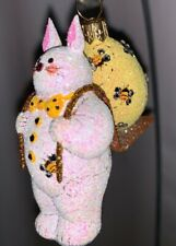 2007 Patricia Breen #2716 Delivered with Care, Buzzing Bees, pearl white/yellow