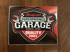 Snap-On Tools Tool Box Sticker Decal Genuine Performance Garage since 1920x