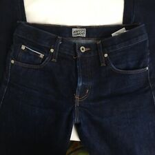 Naked and Famous Slim Guy Fit Deep Indigo Selvedge Straight Jeans. Size 30 X 35