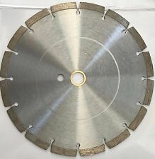10-Inch Dry or Wet  Segmented Saw Blade with 1-Inch Arbor for Concrete /Brick