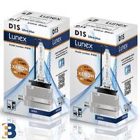 2 x D1S Genuine LUNEX XENON BULB PK32d-2 85V Original 35W 6000K Ultra Blue + 80%
