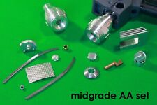 "Star Trek TOS, Phaser, Laser Ready, ""AA"" Mid-grade, Metal Kit, W/ Metal Nozzle"