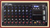 PEAVEY XR S Rack Mountable Powered 8 Channel Mixer w/Bluetooth/USB XRS