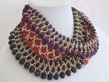 Unbranded Mixed Metals Round CZ Costume Necklaces & Pendants