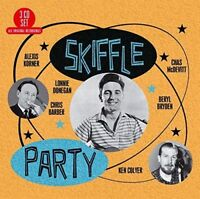 Skiffle Party [CD] Billy Bragg Inspired. British 50s Blues. Gift Idea. NEW