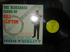 RARE-BILL CLIFTON-The Bluegrass Sound of-1961 original starday SLP-159-M-/M-.
