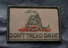 DON'T TREAD ON ME GADSDEN 2RD AMENTMENT HOOK LOOP PATCH