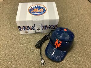 BRAND NEW IN BOX SCENTSY MLB NY NEW YORK METS BASEBALL WAX WARMER ELECTRIC