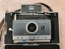 Vintage POLAROID AUTOMATIC 100 LAND CAMERA Instant with Accessories