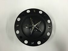 1 NEW KMC XD ROCKSTAR CENTER WHEEL CAP  1000775B S409-51 XD775 BLACK BOLT