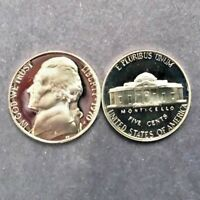 1970 S JEFFERSON NICKEL GEM DCAM PROOF from PROOF Set