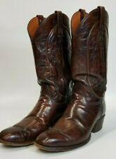 Vintage El Dorado 10D Handmade Cowboy Boots Quality 9104