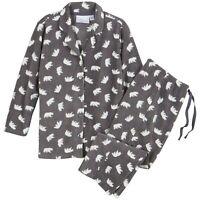 Never Monday 2-Pc. Polar Bear Family Matching Pajamas Set, Men's Size XL