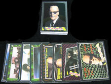 1986 Topps Max Headroom Card & Sticker Set (33 + 11) Nm/Mt