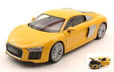 Audi R8 V10 2016 Yellow 1:18 Model 18052Y WELLY
