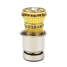 Luxury Style Crystal Rhinestones Auto Car Cigarette Lighter Car Accessories