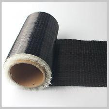 Tessuto tecnico in fibra di carbonio 12K UD PLAIN alta qualità da 20cm X 1 Metro
