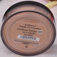 BARE MINERALS ESCENTUALS SPF 15 MEDIUM BEIGE N20 8g XL (PACK of 3)