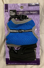 All Things Living Small Animal Vest Harness w/ Leash *Ferrets / Rats *New