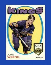 New listing 1971-72 Topps Set Break # 86 Juha Widing NR-MINT *GMCARDS*