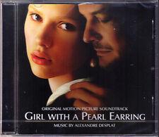 GIRL WITH A PEARL EARRING Alexandre Desplat CD Das Mädchen mit dem Perlenohrring