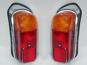 Fanali posteriori Fiat 600-750 in plastica - rear lights