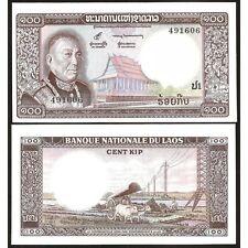 LAO LAOS 100 Kip 1974 UNC P 16