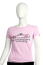 Ugly Little Bitch - Small - Told My Ex Where To Go T-Shirt Pink Funny Humor NWT