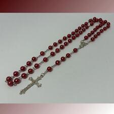 Jesus Kreuz Kette Halskette Madonna Rosenkranz Perlenkette Schmuck Ypsilonkette