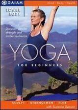 LOWER BODY YOGA for Beginners (DVD) workout  Suzanne Deason SEALED NEW
