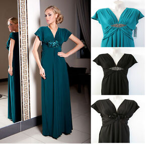 Wedding Dress Bridesmaid Xmas Party Evening Prom Formal Designer UK  Size 8 - 22