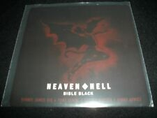 "Heaven and Hell Bible Black 7"" VInyl non lp song black sabbath Record Store Day!"
