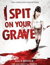 4 DVD Box I Spit on your Grave 1   2   3   The 1978 Original Version - Uncut - T