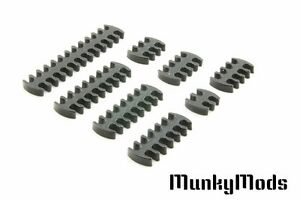 Munky Mods Pro Flex 2.85mm Cable Comb Set (Includes 4,6,8,12,14,16, 24Pin Combs)