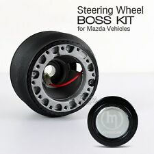 MAZDA MX6 MX-6 JDM Steering Wheel Hub Adapter Boss Kit with Horn Button