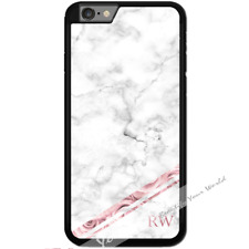 For iPhone 8 PLUS Case Cover PERSONALISED Initials Marble Y01509