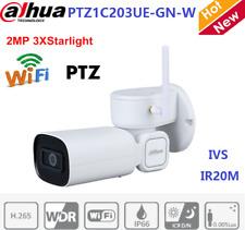 Dahua 2MP 3X Starlight IR PTZ Wi-Fi PTZ1C203UE-GN-W Network Camera WDR IVS IP66