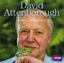 READ BY David Attenborough Life Stories by Sir David (CD-Audio BOOK 2009),NEW