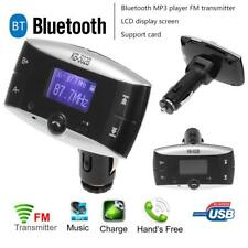 LCD Bluetooth Car FM Transmitter Handsfree MP3 Player USB Charger Remote Control