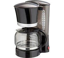 Cookworks Filter Coffee Maker-Black