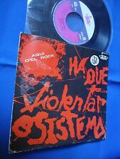 AQUI D'EL ROCK - HA QUE VIOLENTAR O SISTEMA - PORTUGAL 45 SINGLE RARE