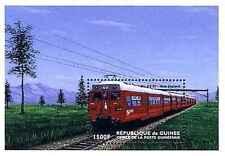 Timbre Trains Guinée BF154 ** année 1998 lot 17570