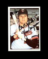 Glenn Borgmann Hand Signed 1975 SSPC Minnesota Twins Autograph