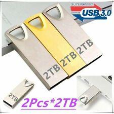 2TB USB 3.0 Flash Drives Metal USB Flash Drives Pen Drive Flash