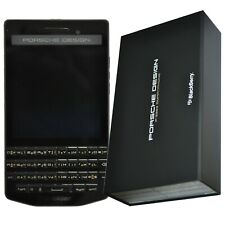BNIB Blackberry Porsche Design P'9983 Graphite 64GB Factory Unlocked 4G Arabic