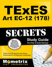 TExES Art EC-12 (178) Secrets Study Guide