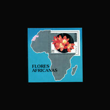 Sahara Republic, 1994, Mnh, 200 Ptas, S/S, Flowers, flora, map, A1Fxcx