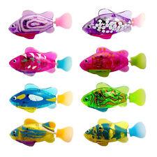 ABS Battery Powered robotfish clownfish For Kids Swim Bath Play Children Toys AU