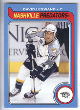 08/09 O-Pee-Chee Retro Blank Back #85 David Legwand