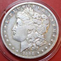USA-Amerika 1 Morgan Dollar 1888-O (New Orleans) 900 Silber KM# 110 #F 2733